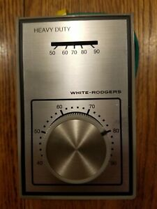 WHITE-RODGERS 1A16-51 Line Voltage Mechanical Thermostat, 120 to 240VAC