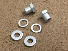 1pr New Departure Whizzer Rear Stand Axle Nuts and Washers