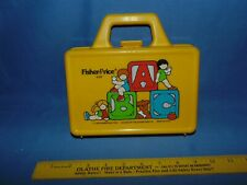 Fisher Price Little People Lunchbox yellow #638