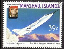 William Bridgeman & Douglas D-558-2 Skyrocket aviones Sello (1987)