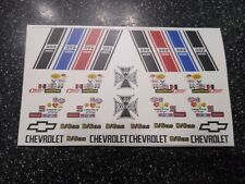 55 GASSER  CLEAR WATER-SLIDE DECALS 1:64 HOT WHEELS MADE IN USA!!
