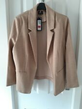 M & S Collection Camel Jacket Size 18 New