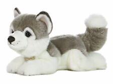 New Aurora Miyoni Stuffed Plush Toy Siberian Husky Animal Puppy Dog Soft Cuddle