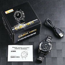2M 1920*1080 USB Recharge Spy Watch Camera Hidden Night Vision Camcorder Cam 8GB