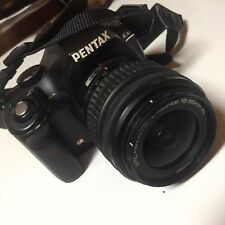 PENTAX K-x 12.4MP DSLR Camera 16GB SD  - BLACK (Kit w/ DA L 18-55mm AL lens)