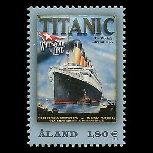 Aland 2012 - 100th Anniversary of the Titanic Disaster - Sc 328 MNH