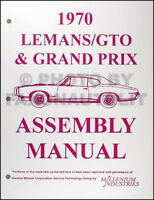 """1970 PONTIAC GTO LEMANS OR TEMPEST TIRE PRESSURE SPECIFICATIONS DECAL /""""KT/"""""""
