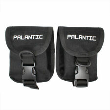 Scuba Diving Palantic Trim Counter Weight Pocket Pouch with QR Buckles, Pair,