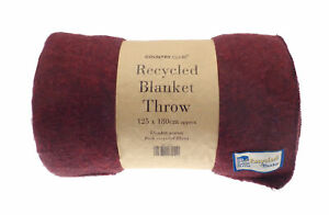 Country Club Recycelt Tagesdecke, Rot Decke Mehrfarbig Baumwolle Polyester