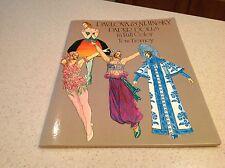 Vintage Paper Dolls Tom Tierney Pavlova & Nijinsky 1981 New Dancing Dance Ballet
