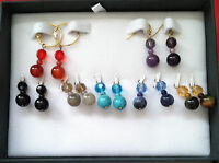New QVC earring set Dangle/Drop Earring Set 14K Gold Plated Holiday gift for her