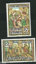 ANDORRA  Edifil # 138/139 ** MNH Set. Navidad / Christmas / Nöel