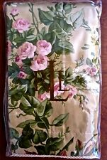 Nip $110 Ralph Lauren Adriana Floral Standard Pillow Sham 100% Cotton 450Tc