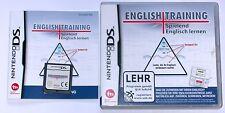 "Nintendo DS juego ""English Training calzado aprender inglés"" completamente OVP"