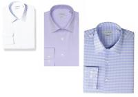 NEW J.M. Haggar Men's Long Sleeve Classic Fit Dress Shirt