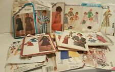 LOT OF 20 VINTAGE CUT  SEWING PATTERNS  SIZE 12 Sew Crafts