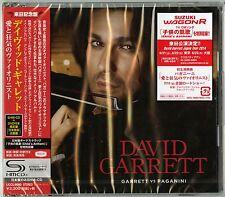 DAVID GARRETT-GARRETT VS. PAGANINI-JAPAN SHM-CD+DVD BONUS TRACK Ltd/Ed H66