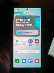 Samsung Note 10 plus Live demo unit