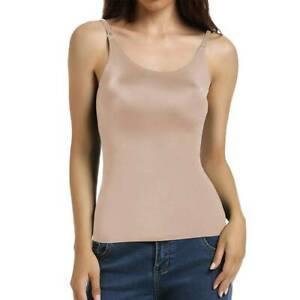 Women's Waist Trainer Vest Body Shaper Slim Camisole Tummy Control Cami Tank Top
