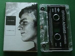 Bryan Adams The Best Of Me / Cloud #9 (Demo) Cassette Tape Single - TESTED