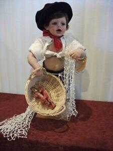 "Zorba the Little Greek 25"" Doll by FayZah Spanos"