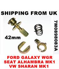 Set di riparazione Serratura Porta Kit Anteriore per FORD GALAXY SEAT ALHAMBRA VW SHARAN 42mm Pin