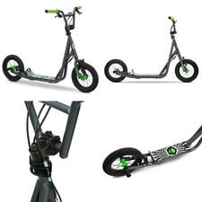 "Pro Scooter 12"" Air Big Wheels for Child Kids, Grey, Handlebar Can Be Adjusted!"