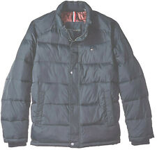 NWT $195 Navy Blue Tommy Hilfiger Puffer Jacket Winter...