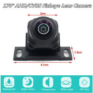 Fisheye Lens Night Vision Car Reverse Rear View Backup Camera 170° AHD/CVBS NTSC