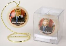 Barack Hussein Obama 44th President Photo Ornament