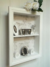 Shabby Chic Wall Unit Shelf Storage Cupboard Display Cabinet French Vintage NEW