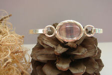 Handmade Silver Plated Amethyst Fine Bracelets
