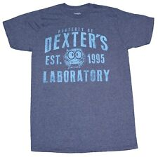DEXTERS LABORATORY CARTOON NETWORK PROPERTY OF DEXTERS LAB T-SHIRT MENS TEE NEW