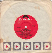 PAT TRAVERS BAND Is This Love / Love Will Make You Strong 45 - Bob Marley