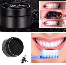 100% Natural Activated Charcoal Whitening Tooth Teeth Powder Toothpaste Black