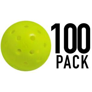 Franklin Sports X-40 Outdoor Pickleballs - Usapa Approved -100 Pack -  - Optic Y