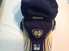 NOTRE DAME COLLEGE NCAA ADIDAS STRETCH FIT HAT OSFA