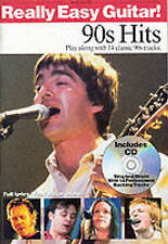 Really Easy Guitar: 90's Hits (Kalmus Edition),,New Book mon0000033282
