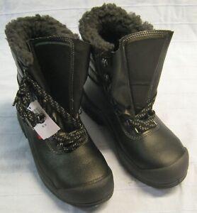 Winter-Stiefel zum Schnüren Größe 39 Arbeitsschuh Stiefel S3 schwarz