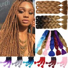 5 Packs Jumbo Hair Extensions Xpression Braiding Hair Twist Braids For Human AU