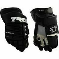 Tron 5000 Roller Inline ICE Hockey Gloves Size 14~NWT~Black/Red~ORG. $99