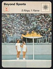 1977 Sportscaster Beyond Sports 5 Rings, 1 Flame @ 05-17 NRMINT. / MINT