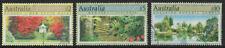 Australia $2 + $5 + $10 Garden stamps x 3 used