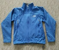 EUC TNF THE NORTH FACE WOMEN'S APEX SOFT SHELL JACKET COLOR BLUE SIZE SMALL S