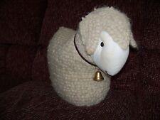 REAL WOOL SHEEP / LAMB DOLL EUC