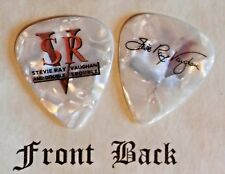 SRV - STEVIE RAY VAUGHAN band Signature Logo guitar pick - Style W