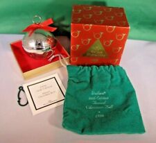 Wallace Silver Bell -1996 26th Anniversary Edition Mib Silver Sleigh Bell