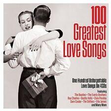 100 GREATEST LOVE SONGS  4 CD NEW!