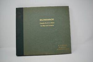RCA Victor Musical Masterpiece Rachmaninoff Concerto No 2 In C Flat Minor 5 Set