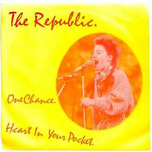 """The Republic One Chance UK 7"""" Vinyl Record Single 1984 OVAL29 Oval 45 EX"""